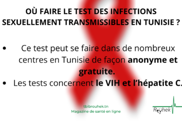 FICHE PRATIQUE: OÙ FAIRE LE TEST DES INFECTIONS SEXUELLEMENT TRANSMISSIBLES EN TUNISIE ?