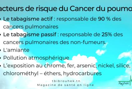 FICHE PRATIQUE: LES FACTEURS DE RISQUE DU CANCER DU POUMON